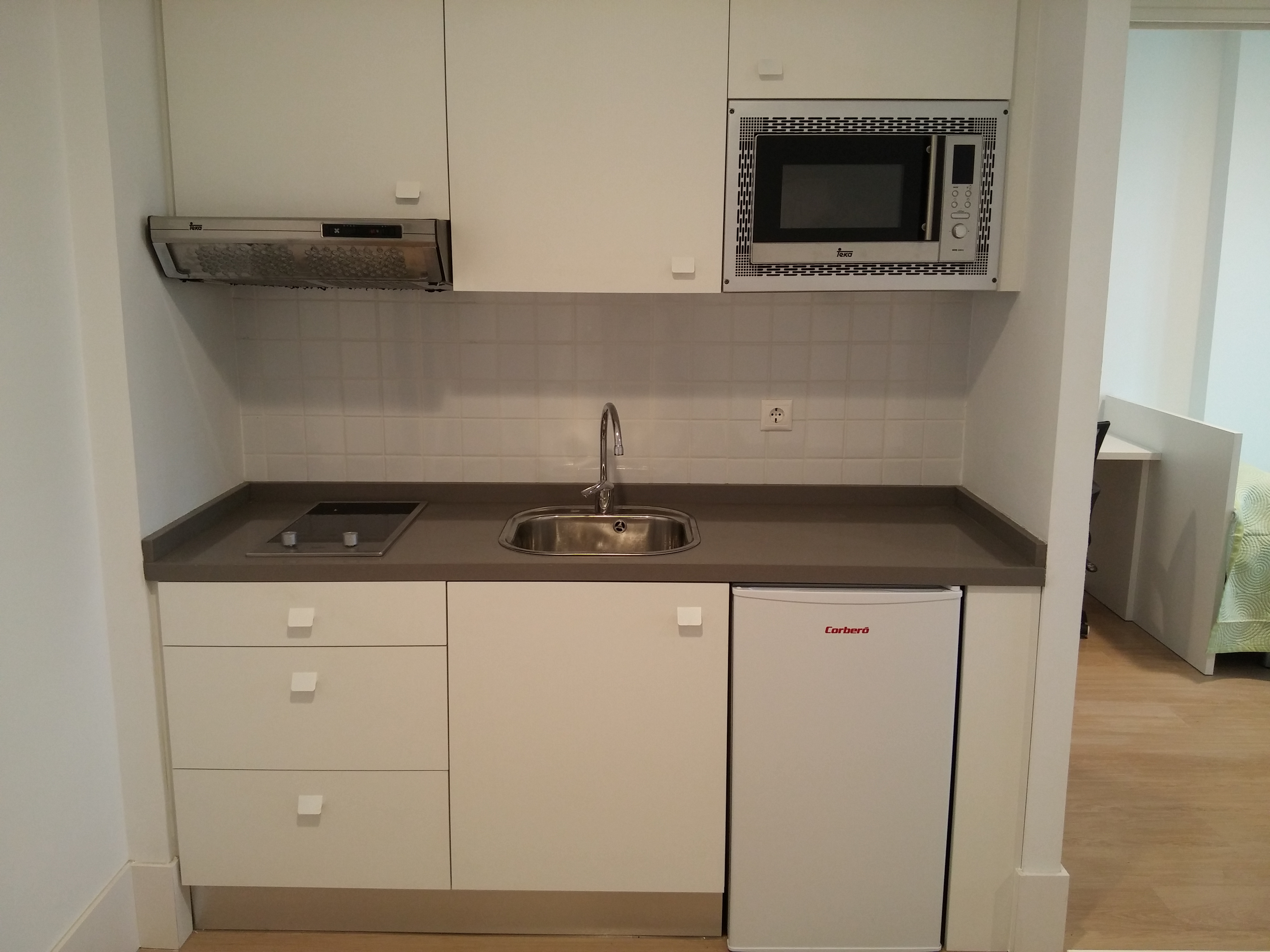 Apartamento Individual - Cocina